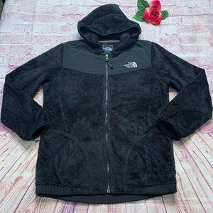 The North Face Womens Large/XL Black Fleece Jacket